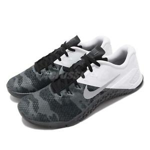 huge selection of 12a4e 9d174 Image is loading Nike-Metcon-4-XD-Black-Grey-Men-Cross-