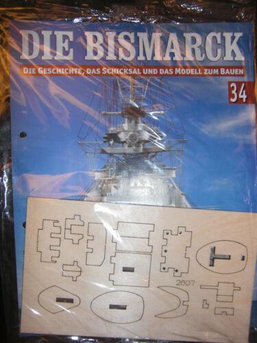 Bismarck//Ausgabe 34//Hachette//Die Geschichte und  Modell Bauen