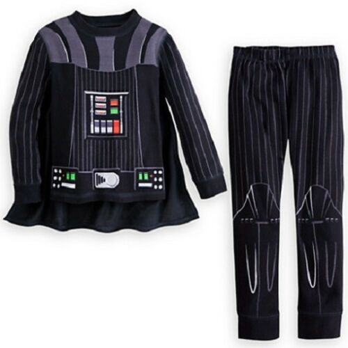 DARTH VADER~Cotton~PJ~Pajama+Cape~STAR WARS~SleepWear~BOYS~NWT~Disney Store~2014