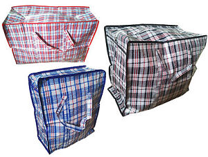 Details About New Good Quality Woven Pvc Plastic Laundry Ping Storage Bags With Zip