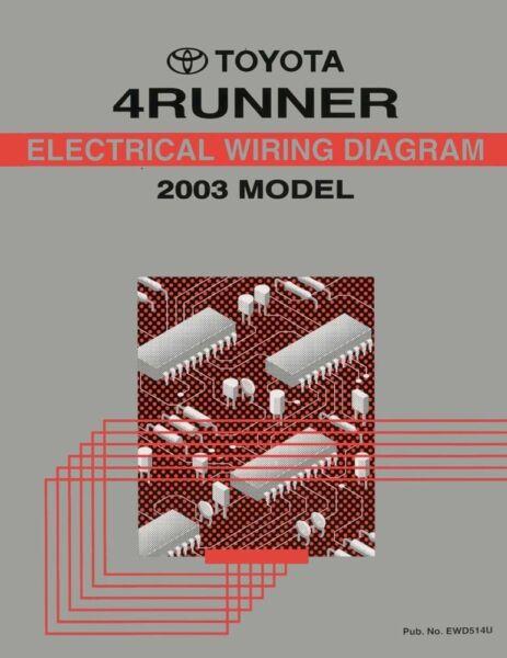 motors 2003 toyota 4runner wiring diagrams schematics layout factory oem