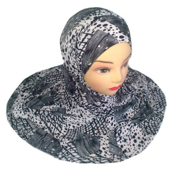2 Pezzi Foulard Di Islam Muslim Copricapo Hijab Niqab Avevano Scialle Votivo