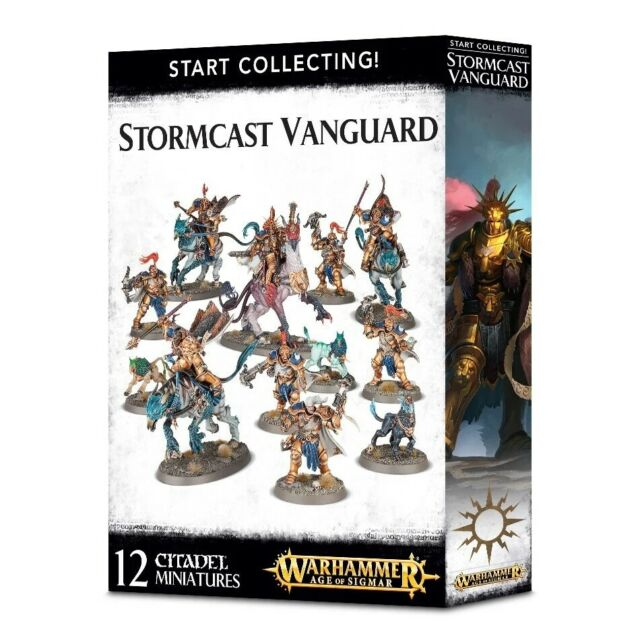Warhammer Age of Sigmar - Start Collecting Stormcast Vanguard 70-87