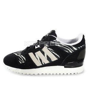 372087428 Adidas Originals ZX 700  B34331  Men Casual Shoes Zebra Black White ...
