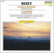 FREE US SHIP. on ANY 2 CDs! NEW CD : Bizet: L'Arlesienne & Carmen Suites