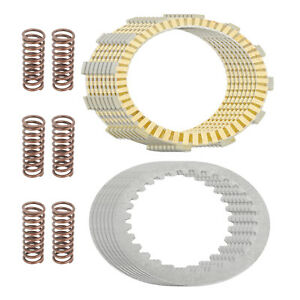 CoopéRative Clutch Friction Steel Plates And Springs Kit Fits Honda Vtx1800 2002-2008