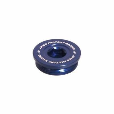 Apico Valve Caps Sherco SE-R SEF-R 125 250 300 450 CNC Aluminium Blue ST Trials