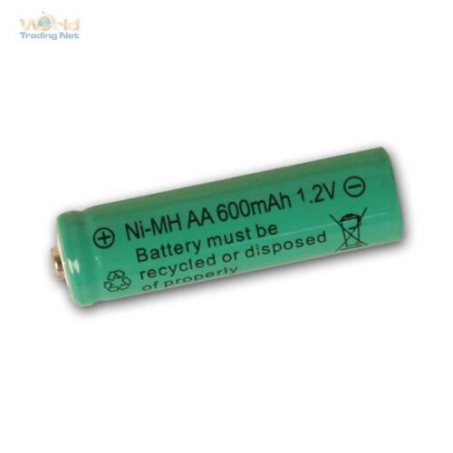 Solar-Batteria per lampada solare BATTERIA di ricambio per AA articolo solare 1,2v NI-MH 600mah