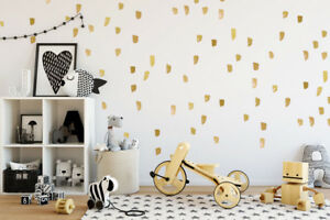 Details About Paint Brush Stroke Wall Decal Nursery Children Decals