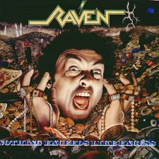 "RAVEN "" NOTHING EXCEEDS LIKE EXCESS "" LP NUOVO  UNDER ONE FLAG  RARO"