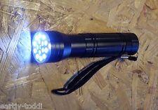 Geocaching Tool 3 in 1..... 5 UV+10 Weiß+1 Laser-Taschenlampe schwarz NEU