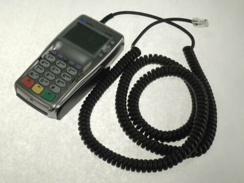 VeriFone VX805 POS Credit Card Terminal EMV NFC Pin Pad w// 4/' Heavy Cable REFURB