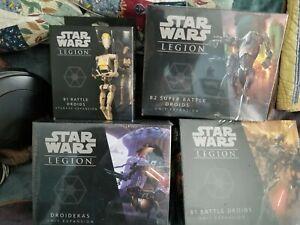 Star Wars Legion droid box sets, 4