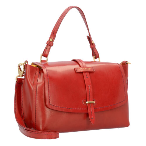 Cm Bridge Damen Leder Henkeltasche Handtasche The Currant Florentin 30 red 0qdw1FF