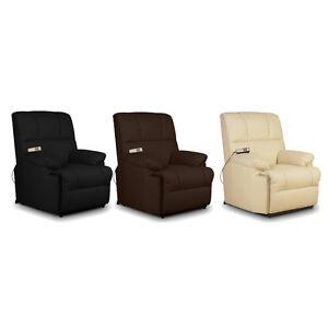 Sillón Relax Masaje reclinable 8 motores y Calor Lumbar