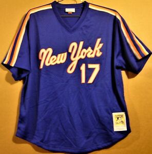 hot sale online db663 a24a8 Details about NEW YORK METS KEITH HERNANDEZ MITCHELL & NESS COOPERSTOWN  COLLECTION JERSEY