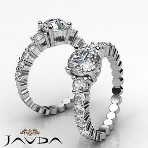 Diamante-Redondo-Natural-Compartido-Engarzado-Anillo-de-Compromiso-GIA-G-VS2