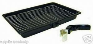 UNIVERSAL-Cooker-Oven-GRILL-PAN-TRAY-amp-HANDLE-380mm-X-280mm