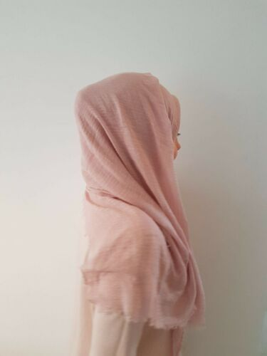 Gülcanella Hijabs 100/% COTTON COTONE Hijab scarf velo Esarp Panno Sciarpa