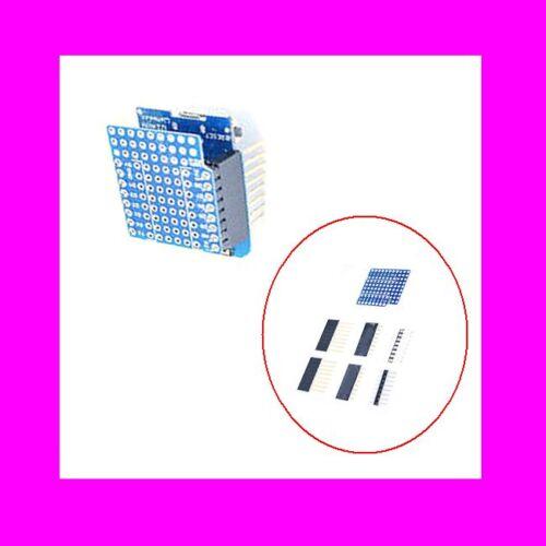 WeMos D1 ProtoBoard Shield FOR mini double side perf board Arduino Raspberry
