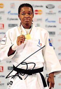 Audrey Tcheumeo - FRA - Olympia 2012 - Judo - BRONZE - Foto - orig. sig  (1)
