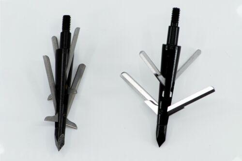 Pack of 12 Dirt Cheap Broadheads CROSSCUT Mechanical Broadheads USA Seller