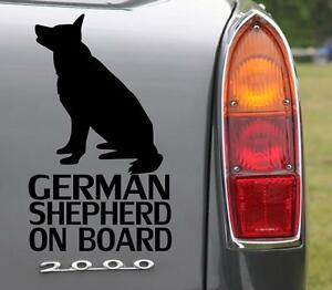 German-Shepherd-On-Board-Bumper-Car-Sticker-Dog-lovers-must-have-sticker-UK