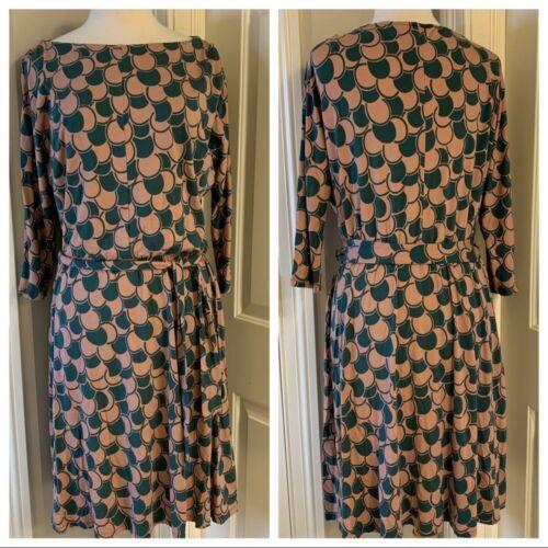 Boden Jersey Knit Dress Sz 12