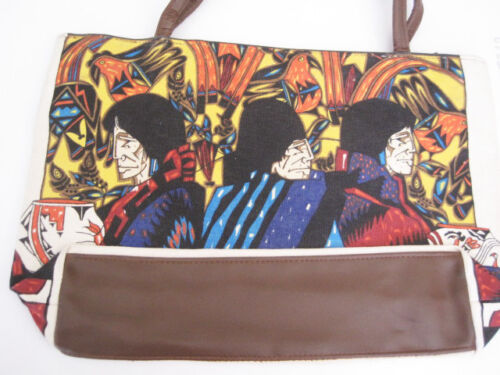 Canvas Amado Pena Jr Art on Handbag