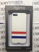 Agent18 Slimshield Shield Snap Hard Case For Iphone 5/5s Varsity White