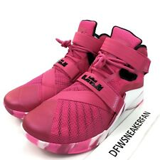 53322d727d0f3 item 6 Nike Zoom Soldier 9 IX Men s 14 Pink Breast Cancer Basketball Shoes  749417-601 -Nike Zoom Soldier 9 IX Men s 14 Pink Breast Cancer Basketball  Shoes ...