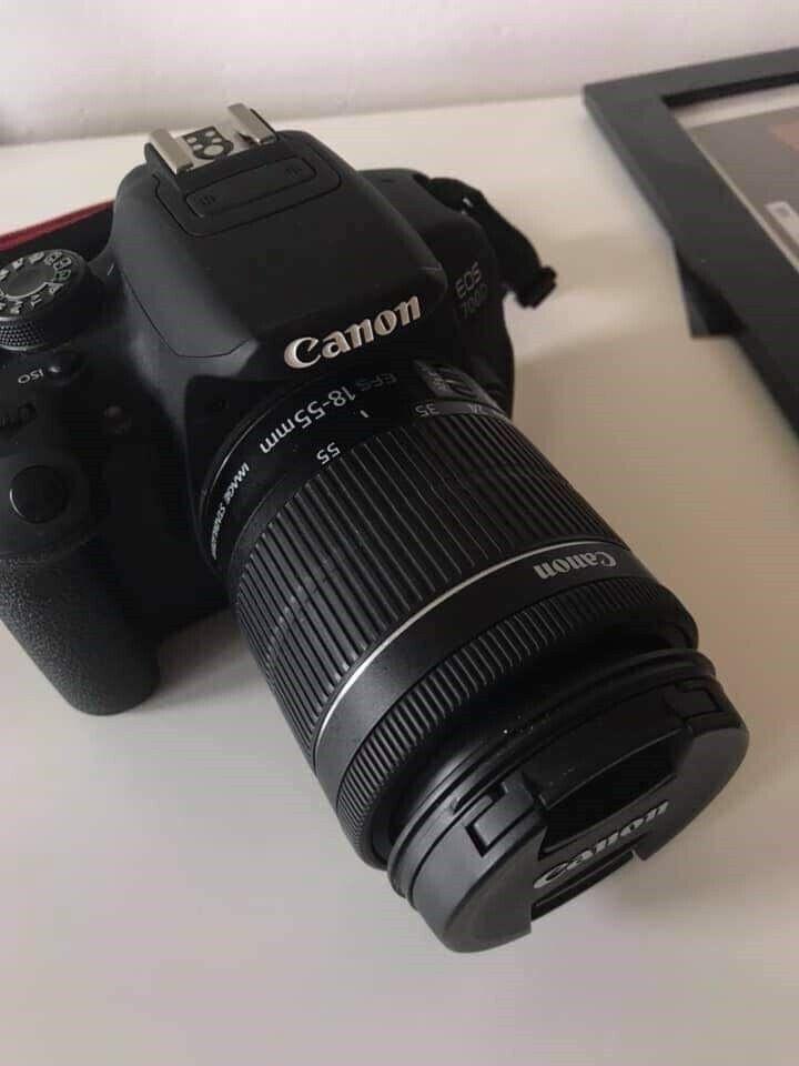 Canon, EOS 700D, spejlrefleks