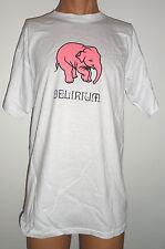 இ Bière Beer Delirium Tremens  TSHIRT Taille-Size L Elephant Rose Pink இ