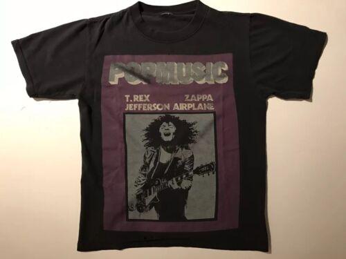 RARE Vintage Marc Bolan T.Rex 1990's POPMUSIC TShi