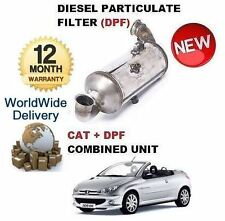 FOR PEUGEOT 206 1.6HDI 2004-> DIESEL PARTICULATE DPF & CAT CATALYTIC FILTER KIT