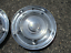 thumbnail 11 - Genuine 1957 1958 Oldsmobile 14 inch hubcaps wheel covers set
