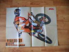 POSTER ANNO 2012 - RYAN DUNGEY e MOTO KTM 450 SX-F