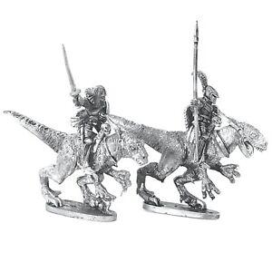 Dark-Elf-Raptor-Riders-x2-Warhammer-Fantasy-Armies-28mm-Unpainted-Wargames