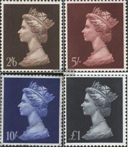 Grossbritannien-507-510-kompl-Ausg-postfrisch-1968-Koenigin-Elisabeth-II