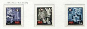 37468) Malta 1970 MNH Christmas 3v