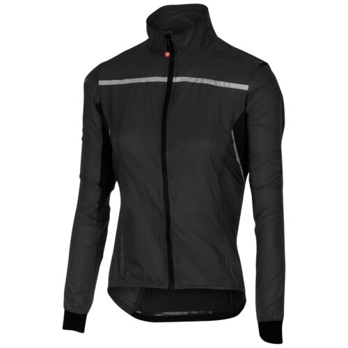 Castelli Superleggera Womens Bike Jacket Black 2018