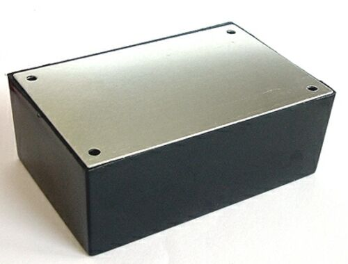 """Project Box Plastic 4.125/""""x2.625/""""x1.5/"""" with Perf Board"""