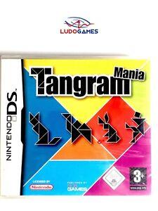 Tangram-Mania-Nintendo-DS-Pal-Eur-Scelle-Videojuego-Neuf-Nouveau-Scelle-Retro