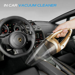 12V Auto Car Vacuum Cleaner with 120W Portable Bagless Handheld Dirt Dust Clean