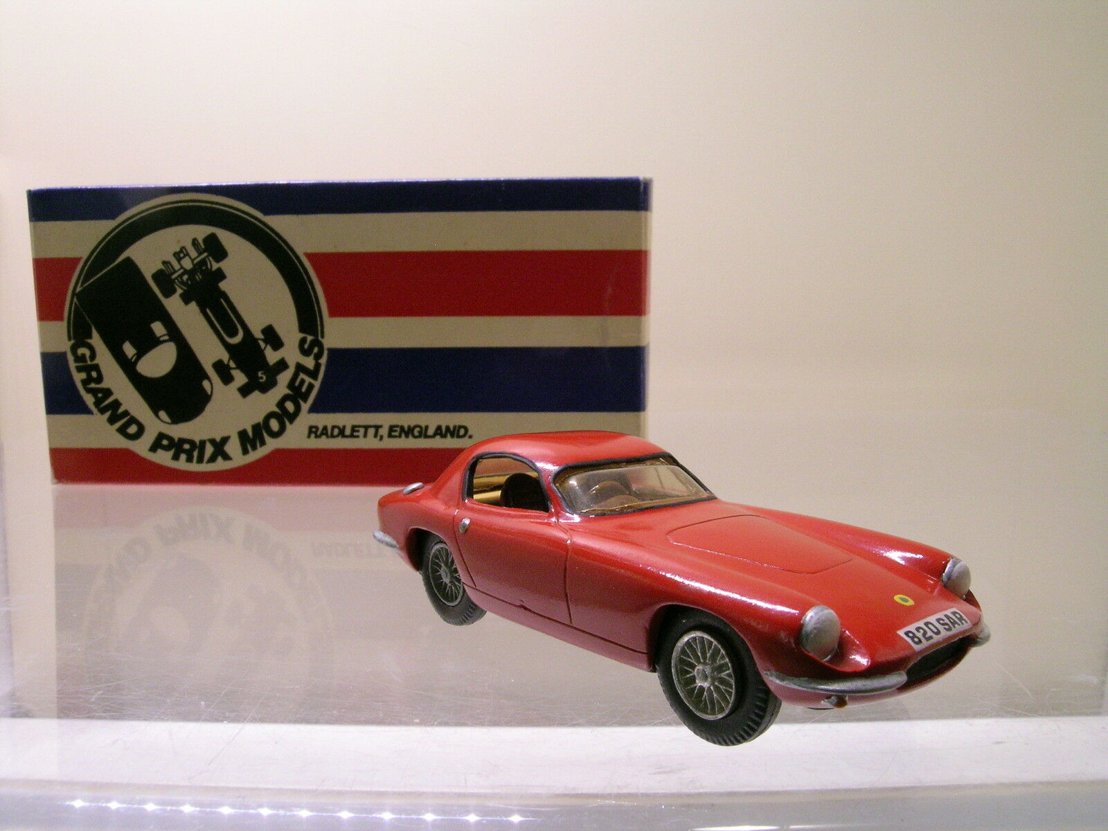 GRAND PRIX MODELS 2  LOTUS ELITE rouge HANDBUILT blanc-METAL BOXED 1 43  design unique