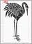 Japonés Hoja de A4 Mylar Plantilla De Pájaro Garza fuerte Art Deco Pared Reutilizable Craft