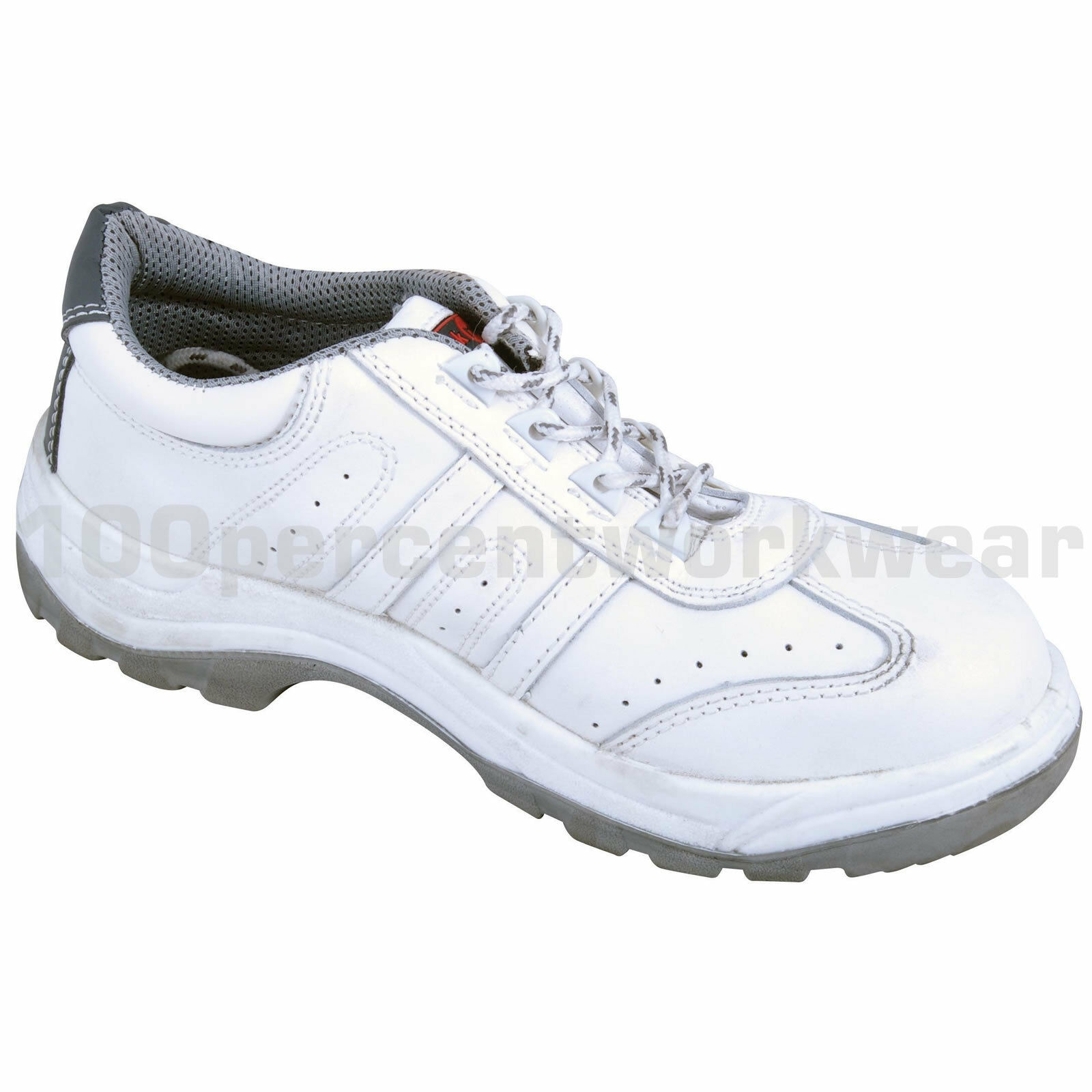 Blackrock SF30 Work Painters Decorators White Safety Trainers shoes Decorating
