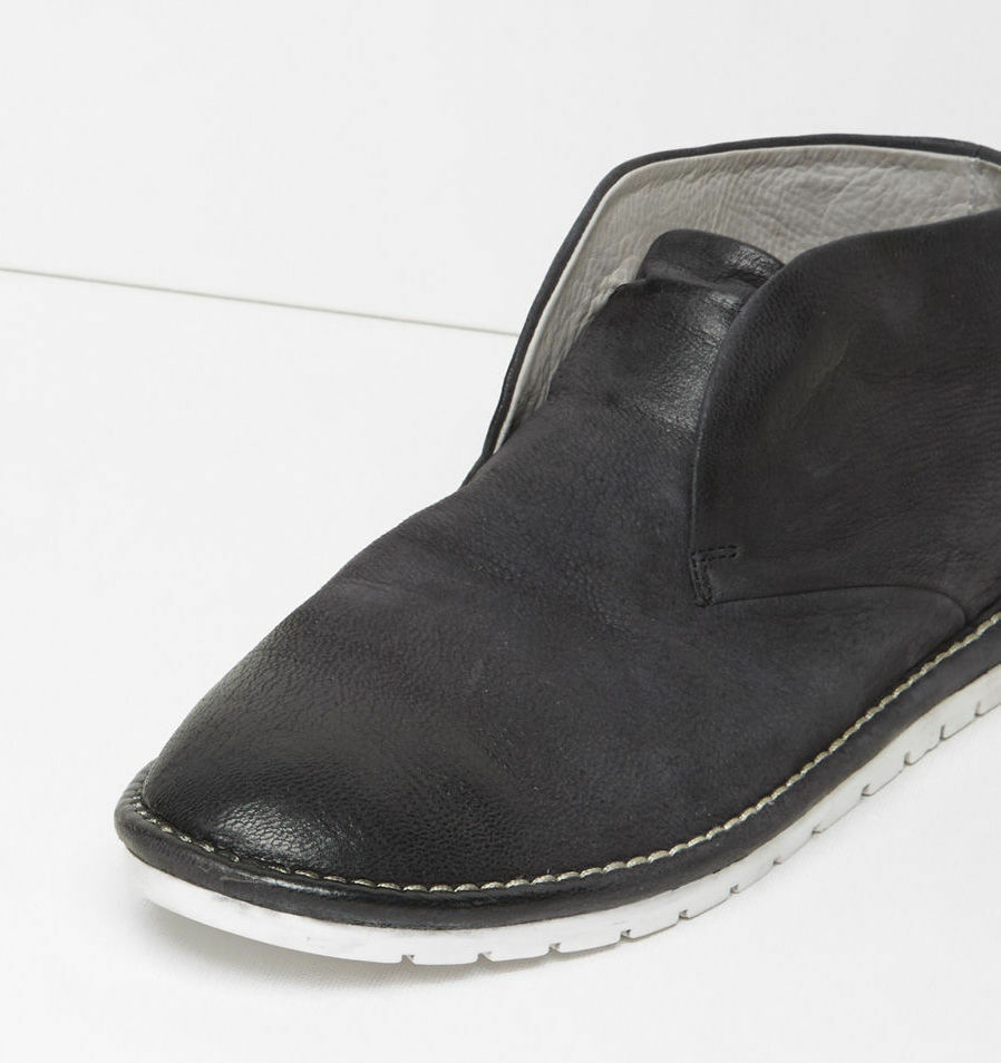 Marsèll Gomma Leather Leather Leather Sancrispa Ankle Boots in Black Size 36 d74d3f