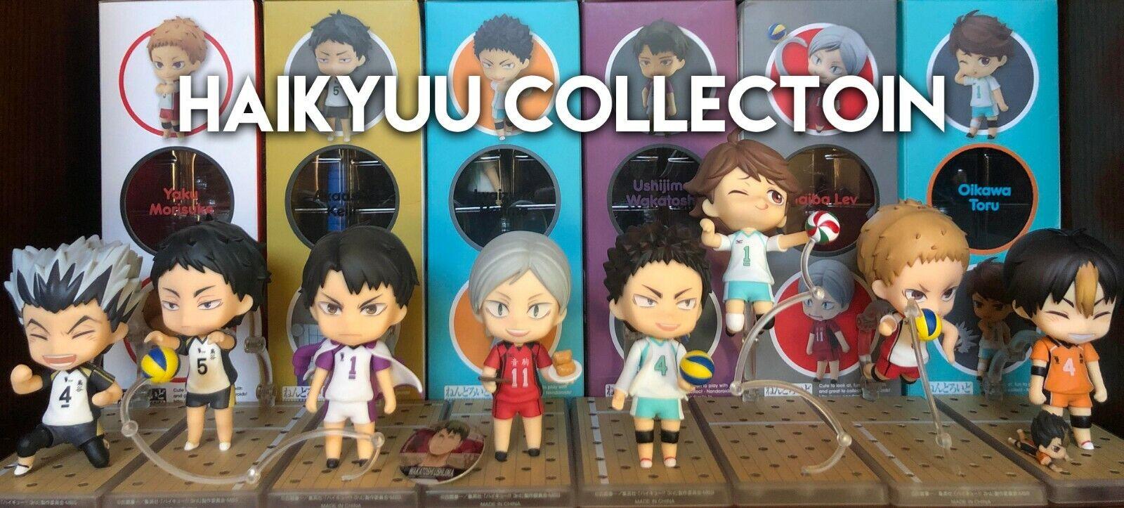 HAIKYU   Haikyuu Nendgoldid Collection 100% AUTHENTIC USA Seller BRAND NEW