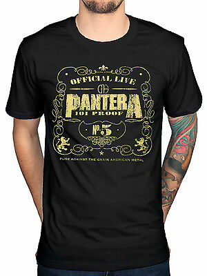 Official Pantera 101 Proof T-Shirt Snake Far Beyond Driven Power Metal Magic Vul